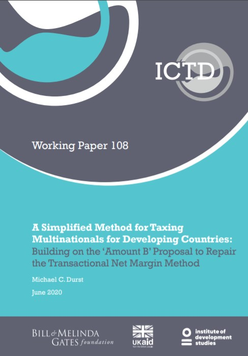A Simplified Method for Taxing Multinationals for Developing Countries: