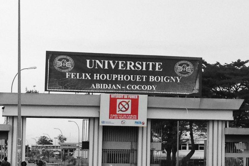 Interdit de fumer_Universite Houphouet Boigny
